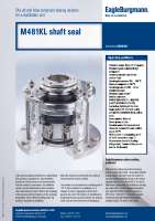 Solution: Agitator seal M481KL TA-Luft and ATEX compliant