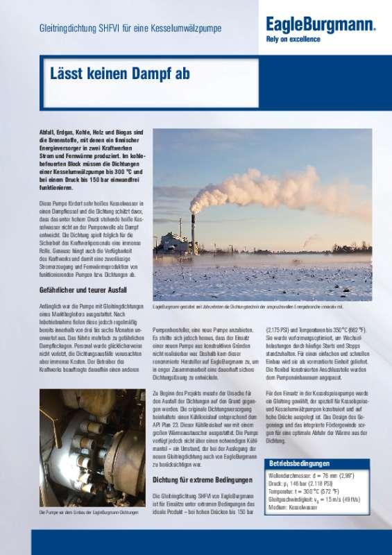Solution: SHFVI Kesselumwälzpumpe Finnland